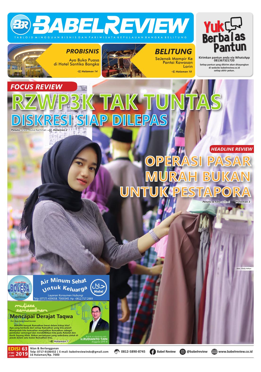 Tabloid BabelReview EDISI 63