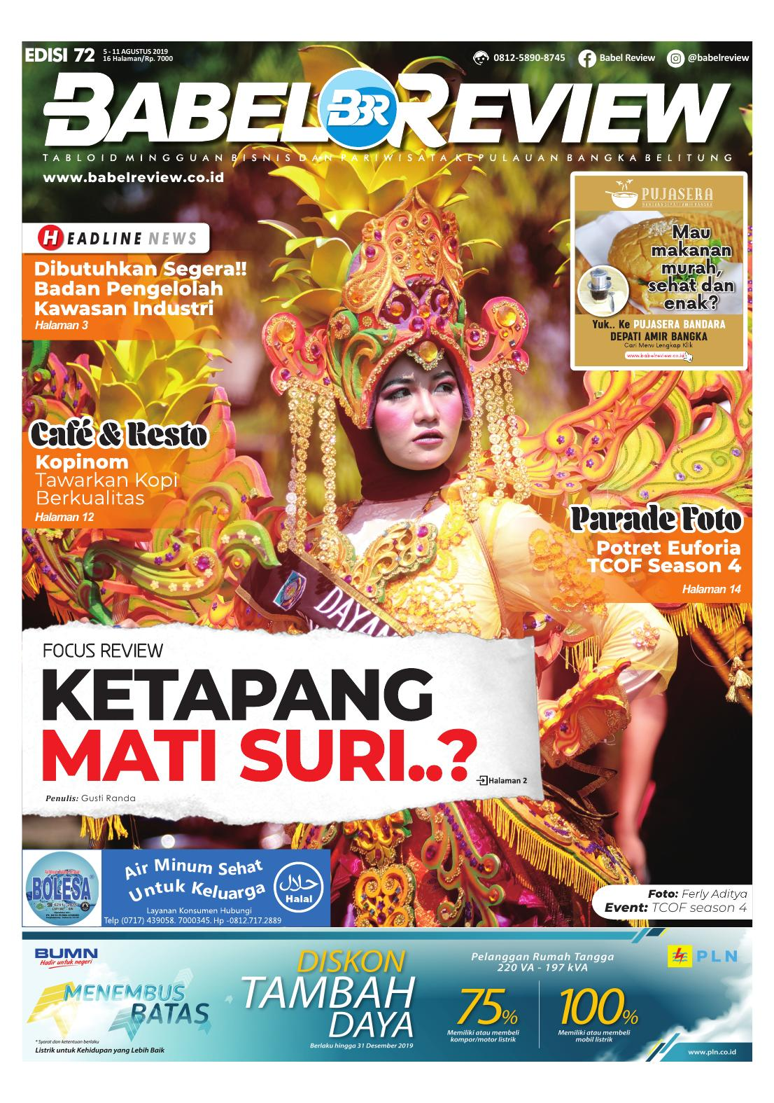 Tabloid BabelReview EDISI 72