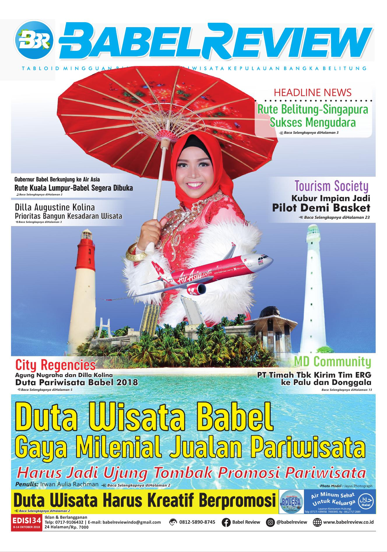 Tabloid BabelReview EDISI 34