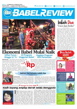 Tabloid BabelReview EDISI  3