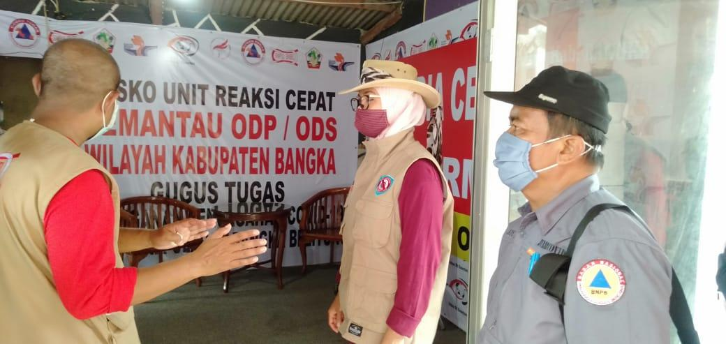 213 ODP/ODS Di Wilayah Kabupaten Bangka Selesai Jalani Masa Karantina Mandiri