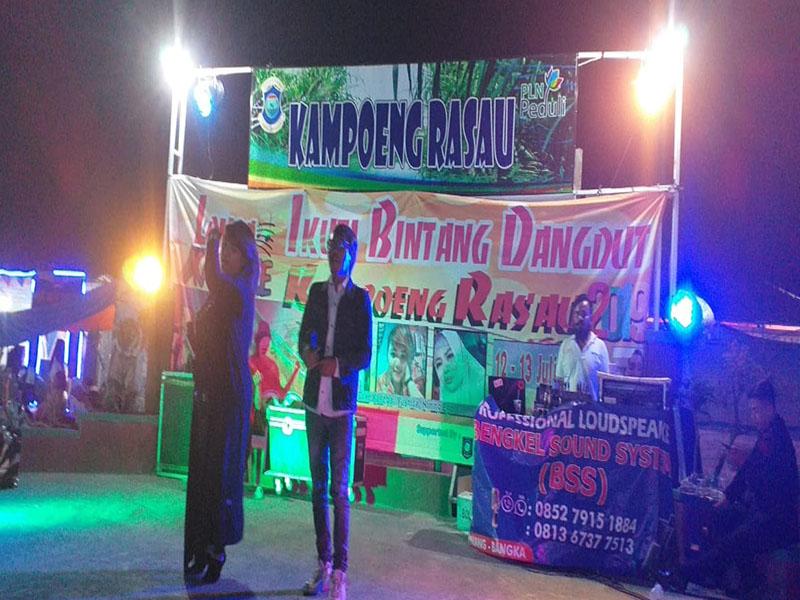 30 Peserta Meriahkan Lomba Karaoke Kampoeng Rasau