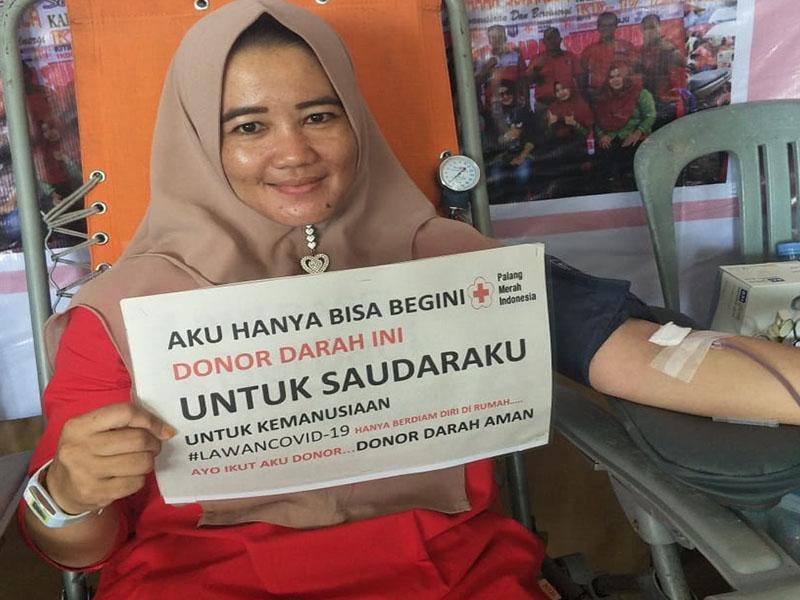 44 Kantong Darah Darah Terkumpul dari Kecamatan Payung