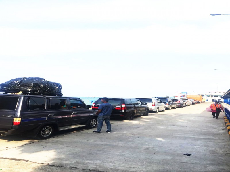8.000 Pemudik Keluar Bangka Lewat Pelabuhan Tanjung Kalian