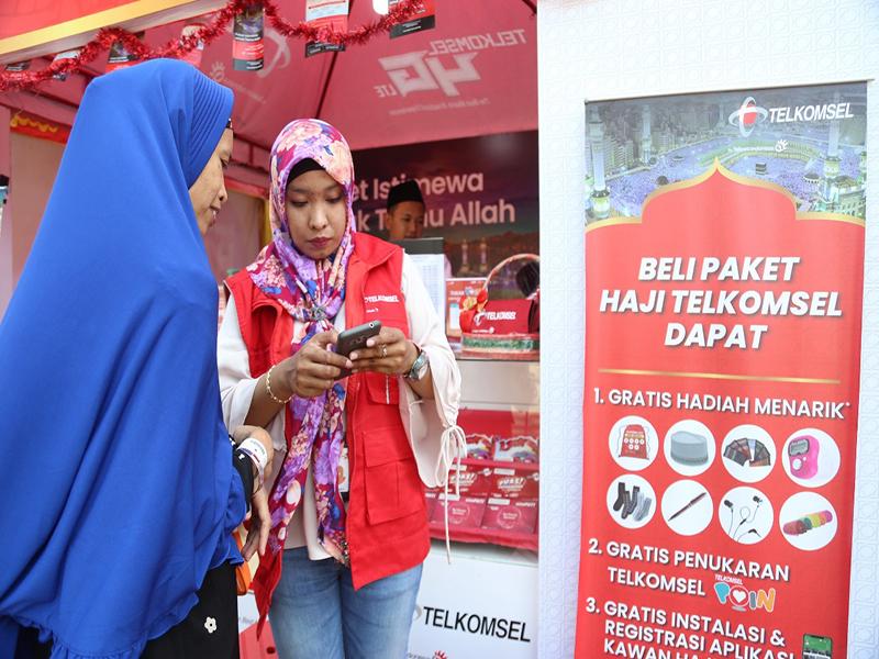 Agar Silahturrahmi Tetap Tersambung dari Tanah Suci, Telkomsel Siapkan Paket Promo Khusus Haji