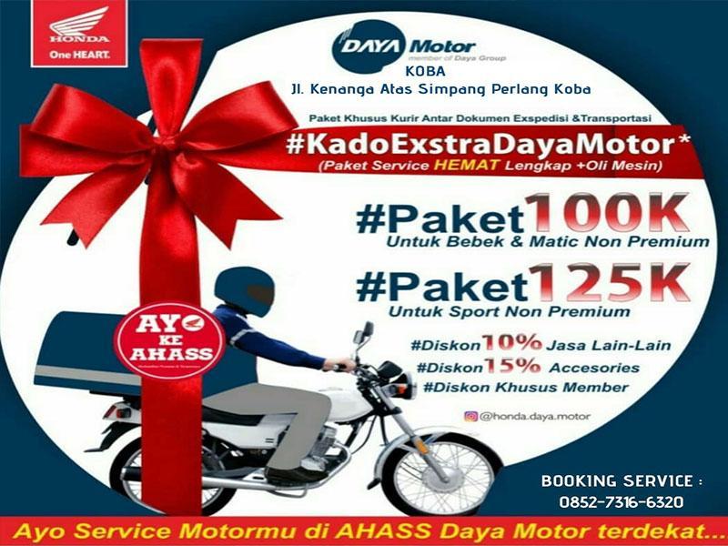 Ahass Daya Motor Koba Promo Kado Ekstra Daya Motor