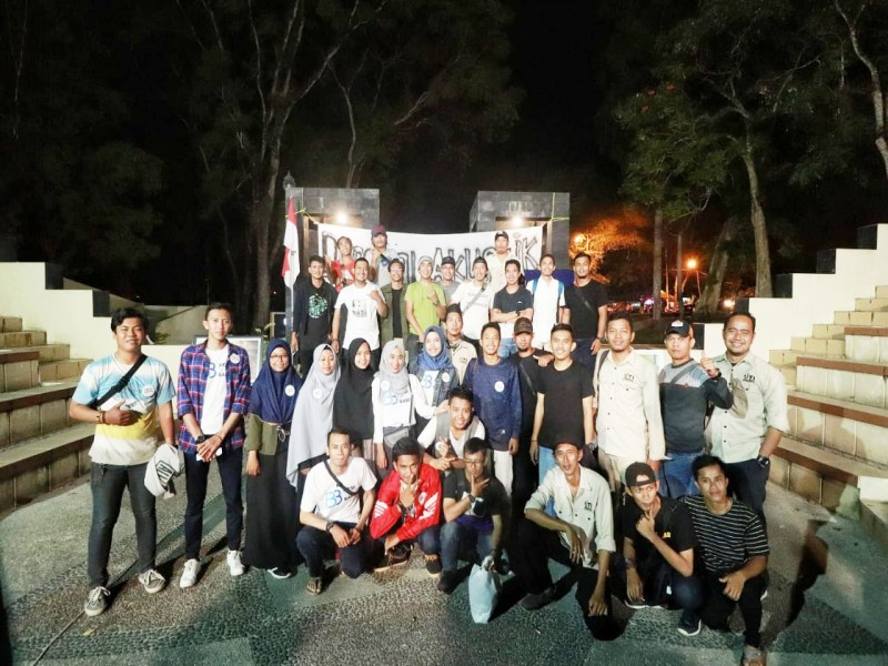 Aksi Penggalangan Dana Korban Gempa Donggala dan Palu Berbagai Komunitas dan IJTI Babel, Terkumpul Rp31 Juta