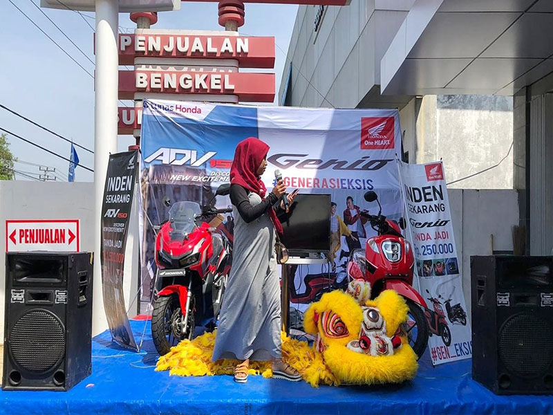 ASP Muntok Launching New Honda ADV150 dan Honda Genio