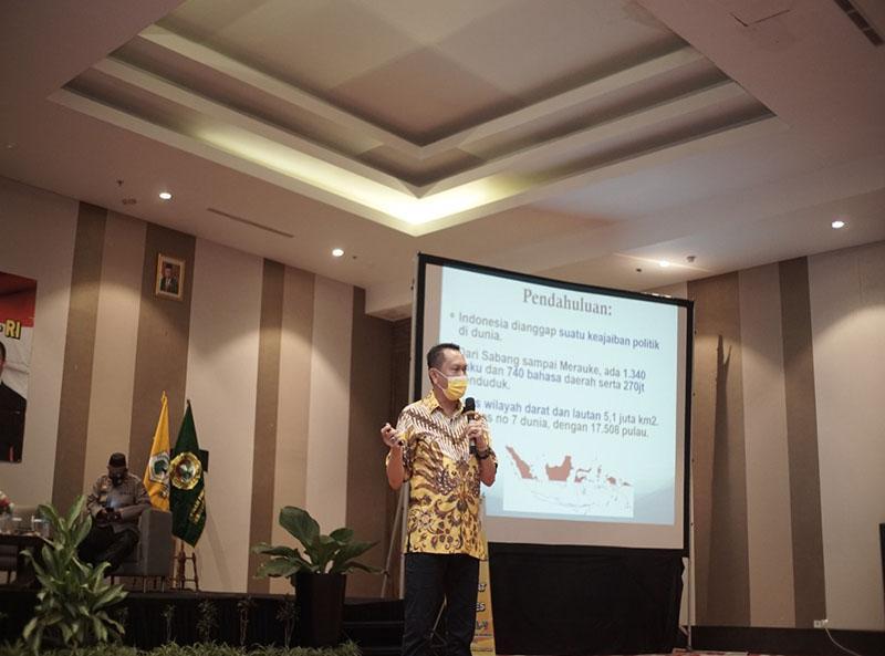Bambang Patijaya: LDII Salah Satu Tempat Terbaik untuk Sosialisasikan Pancasila