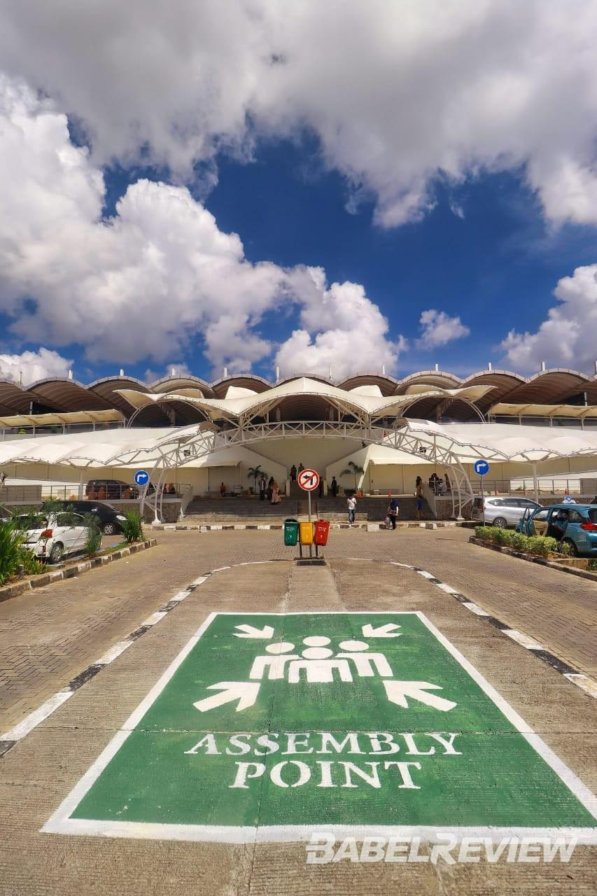 Bandara Depati Amir Bangka Mulai Ramai, Setiap Penumpang Wajib Bawa Hasil Rapid Test