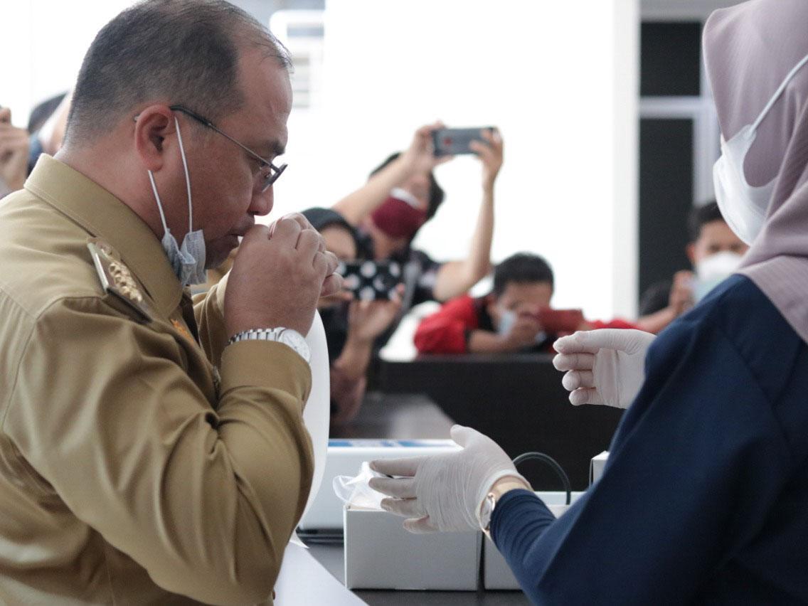 Belum Tersedianya GeNose di Bandara, Gubernur Erzaldi Desak Angkasa Pura