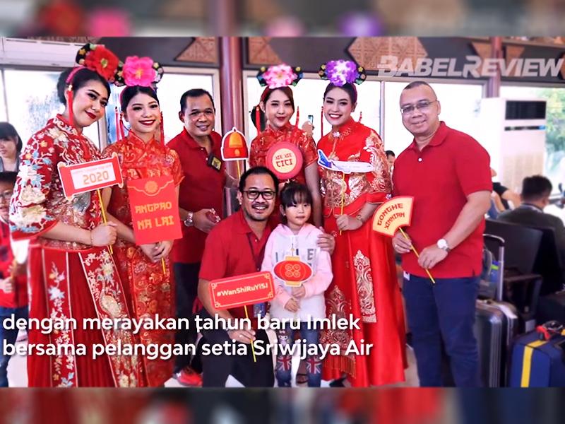 Berbagi Kebahagiaan di Tahun Baru Imlek 2020 bersama Sriwijaya Air