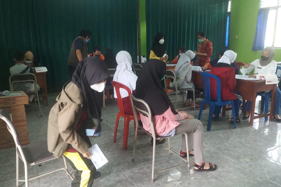 Berikut Jumlah Siswa SMP dan SMA di Kabupaten Bangka Yang Telah Di Vaksin