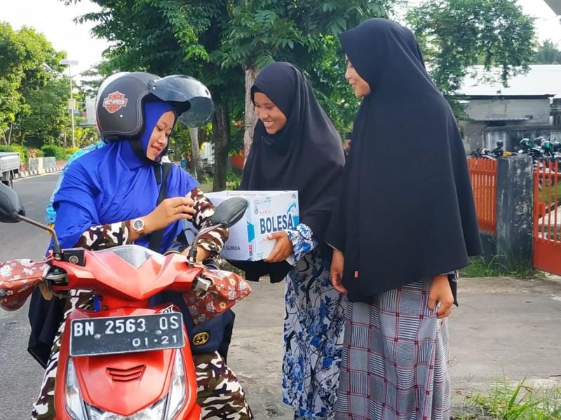 Bersama 52 Komunitas, BKPRMI Bangka Galang Dana untuk Korban Tsunami Tanjung Lesung