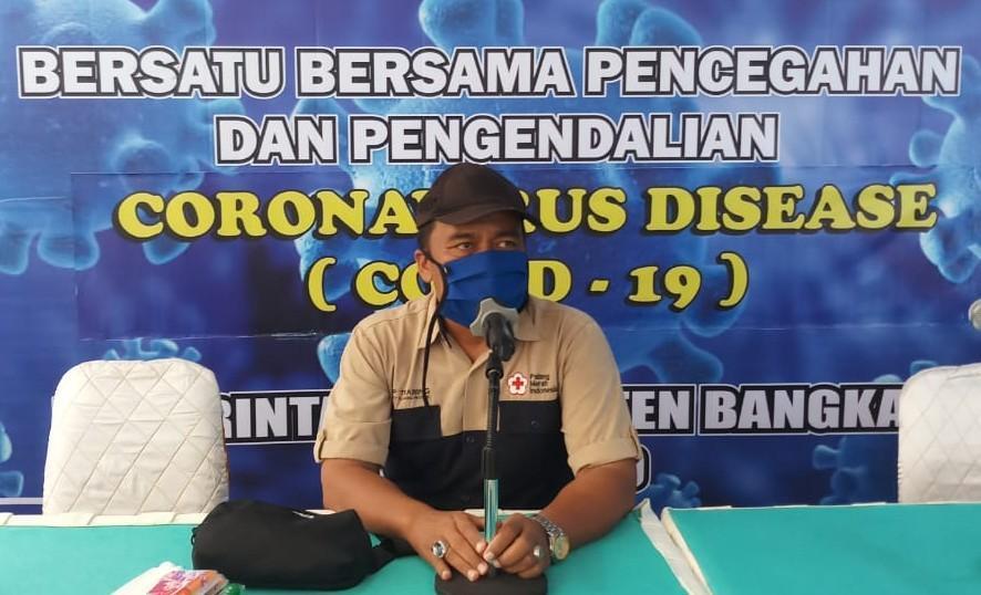 GTPPC-19 Kabupaten Bangka Serahkan Bukti Penyebaran Berita Hoax ke Polres Bangka