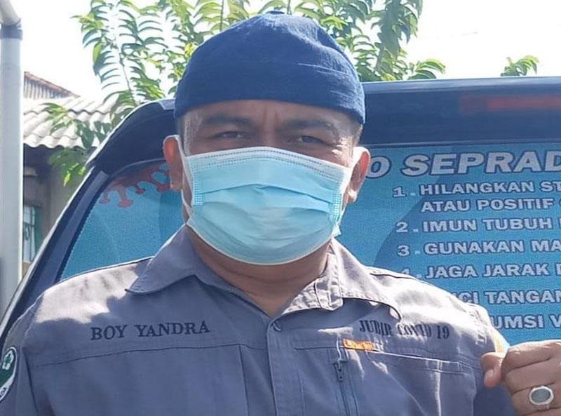 Boy Yandra : Rapid Test Antigen Wajib Bagi Pelaku Perjalanan