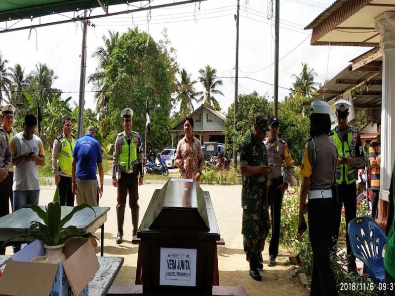 Breaking News: Jenazah Satu dari Kakak Beradik Korban Lion Air JT610 Tiba di Sungailiat