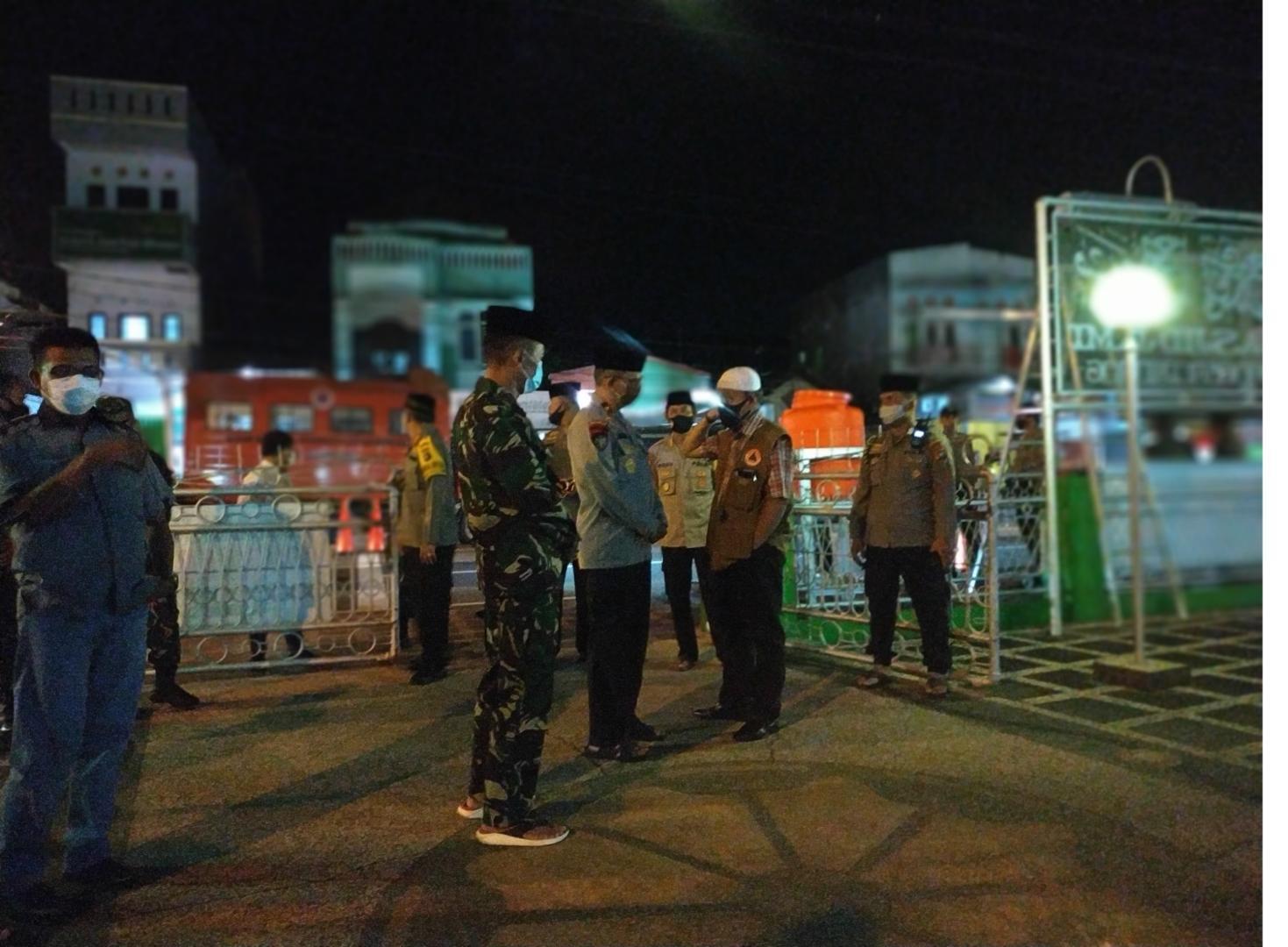 Breaking News : Rapid Test Massal Dimulai, Pemeriksaan Pertama Dilakukan Kepada Jamaah Masjid Jami' Pangkalpinang