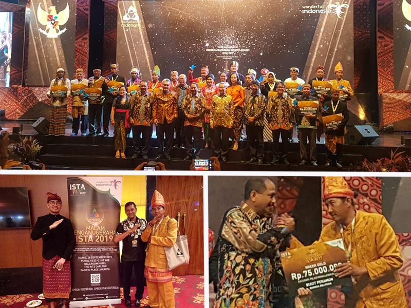Bukit Peramun Terbaik Se-Indonesia  Raih Penghargaan pada Ajang ISTA Festival 2019)