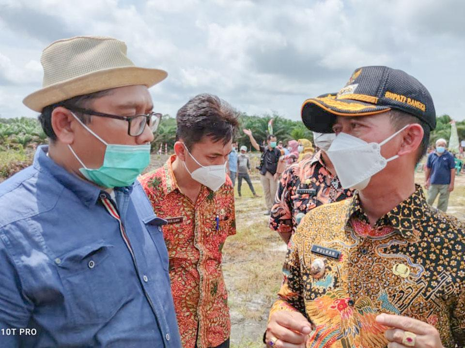 Bupati Bangka Targetkan 2024 Kabupaten Bangka Bisa Swasembada Pangan