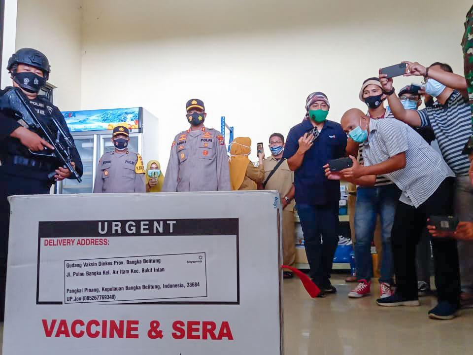 Bupati dan Wabup Basel Tak Lakukan Vaksinasi Covid-19, Ini Alasannya