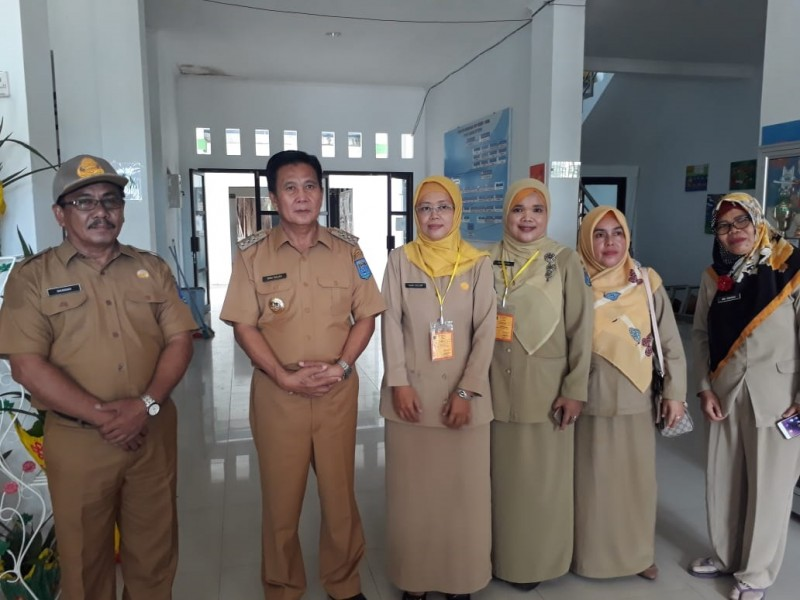 Bupati Ibnu Saleh Pantau Pelaksanaan UNBK di Bangka Tengah
