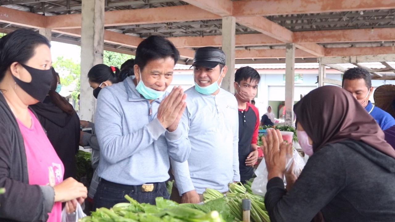 Bupati Ibnu Tiba-Tiba Muncul di Pasar Desa Mesu, Ada Apa?
