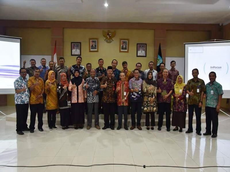Camat se Kabupaten Bantul Ngumpul di Bangka Belajar Kewenangan Tugas