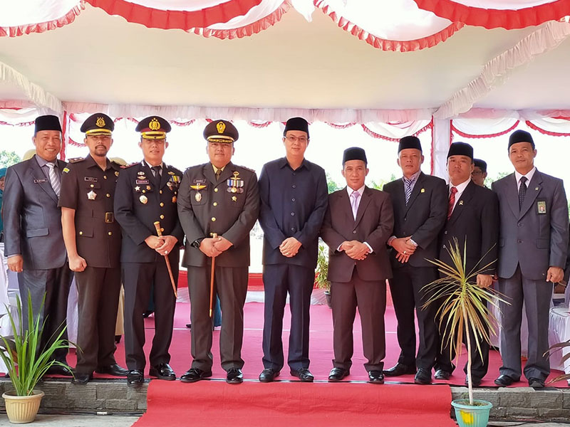 Dandim 0431 Pimpin Upacara Peringatan Hari Pahlawan di Bangka Barat