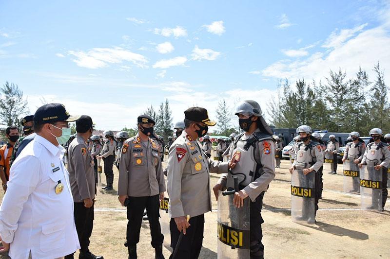 Dari Pilkada Hingga Covid-19, Pasukan Pengamanan Siap Amankan Bangka Barat