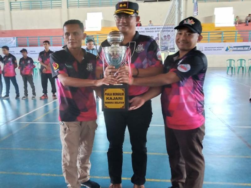 Desa Gadung Vs Kelurahan Teladan, Berebut Jadi yang Terbaik di Kejari Cup II