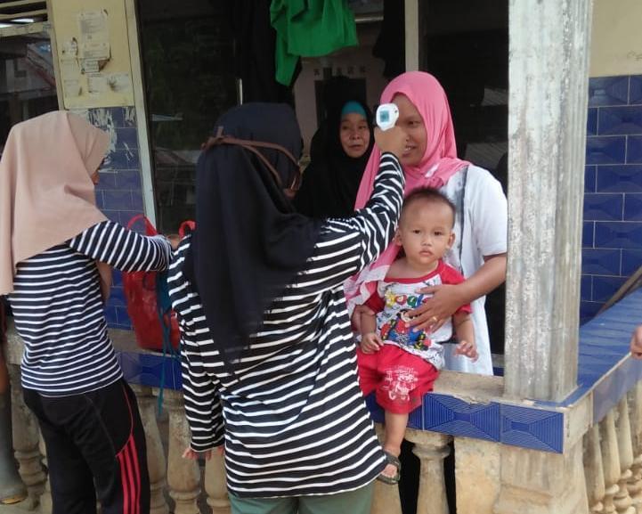 Desa Kotawaringin Tanggap Covid-19 dengan Aksi Pencegahan