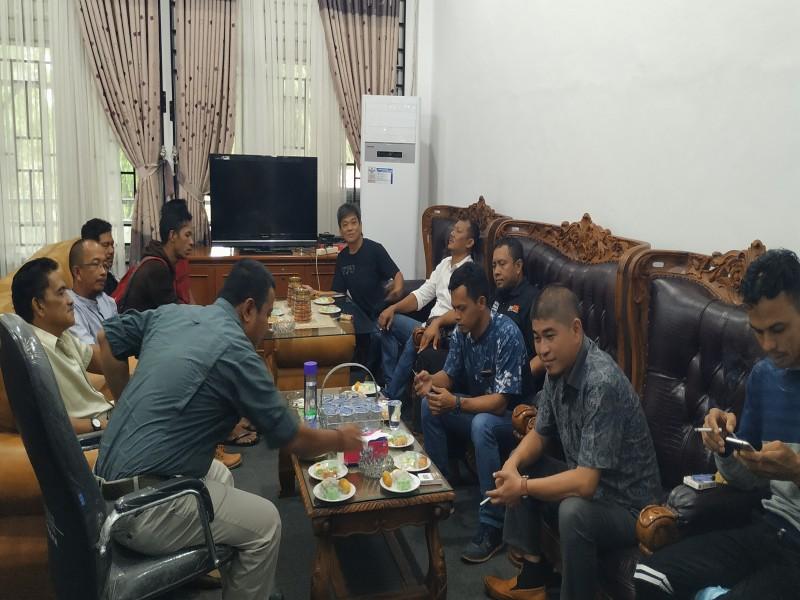 Di Hadapan Wakil Ketua I DPRD Bangka, Pengurus Pencak Silat Pulau Kelapa Keluhkan Kinerja IPSI Bangka