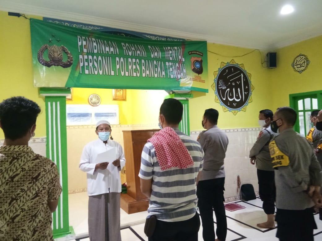 Diimami Ketua MUI Bateng, Kapolres berserta Jajaran Gelar Solat Ghoib Untuk Syekh Ali Jaber dan Kombes Pol. Yusmanjaya