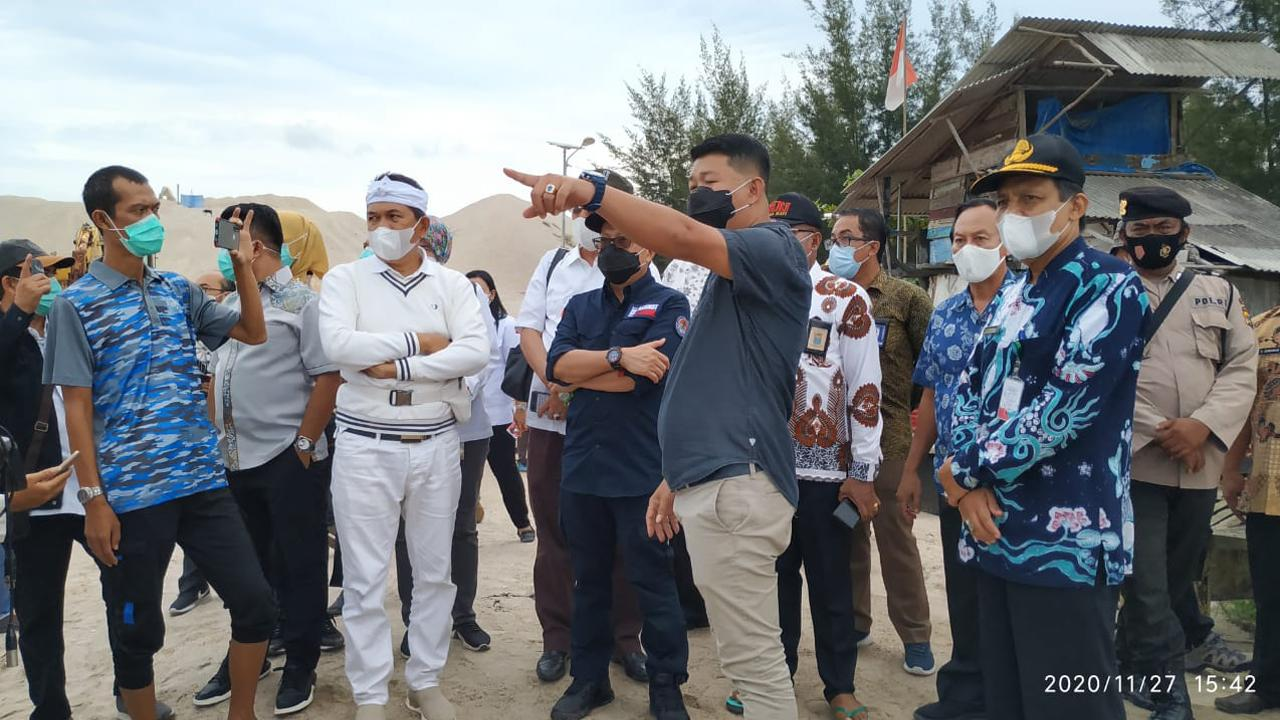 Dikunjungi Anggota DPR RI, Yanto : Saya Sudah Jelaskan dari Awal Apa yang Terjadi