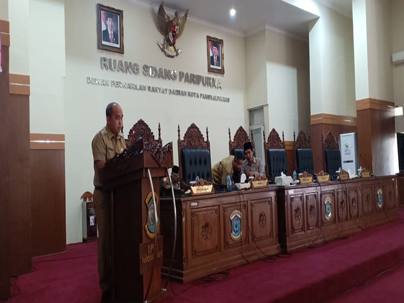 DPRD Pangkal Pinang Setujui Raperda Pertanggungjawaban APBD Tahun 2018 Jadi Perda