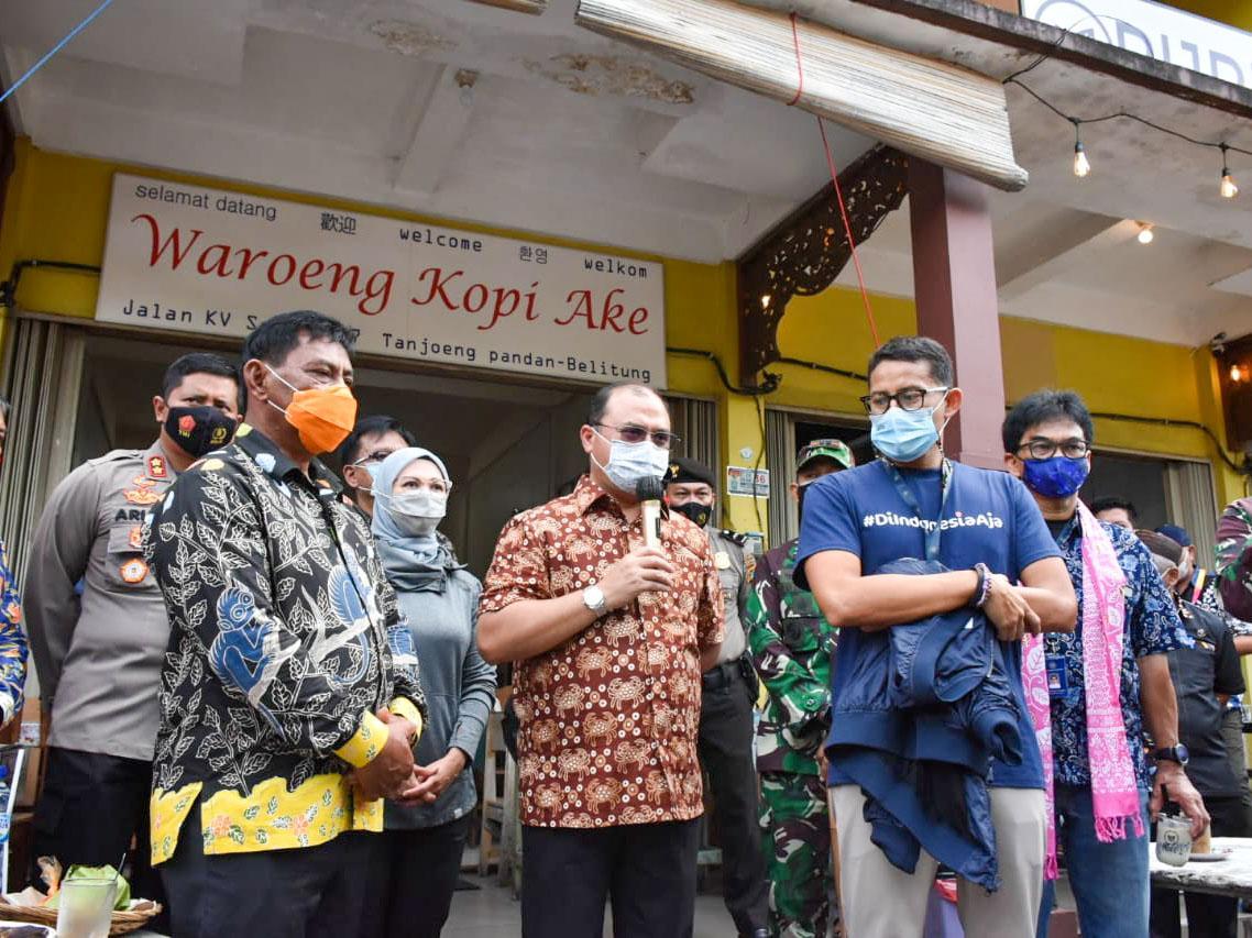 Dua Site Belitung Dicanangkan Jadi Prioritas Destinasi Wisata Keenam Indonesia