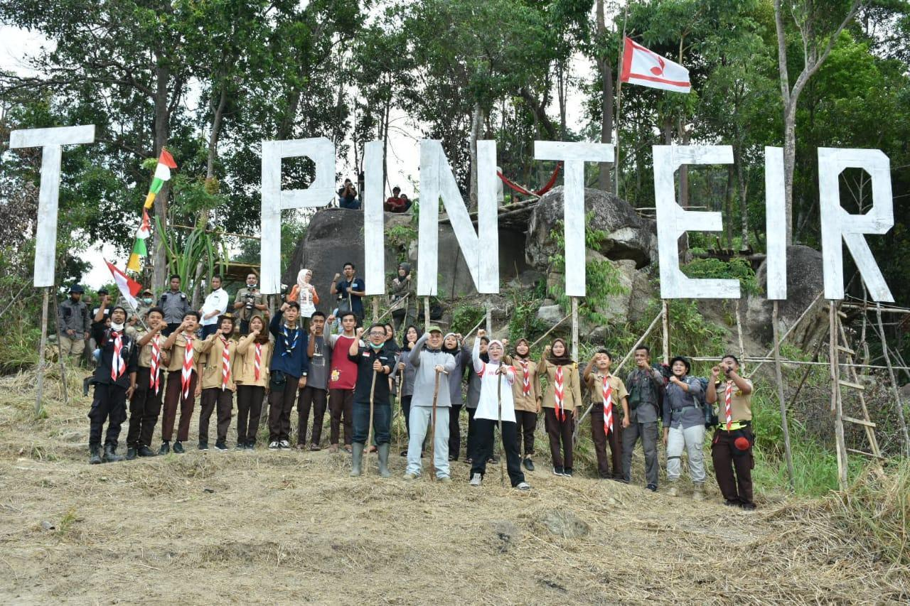 Dukung Pengembangan Wisata Bukit Pinteir, Gubernur Babel Siapkan Dana Bantuan