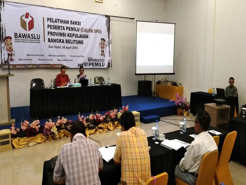 Edi Irawan : Saksi Peserta Pemilu Adalah Mitra Pengawas TPS
