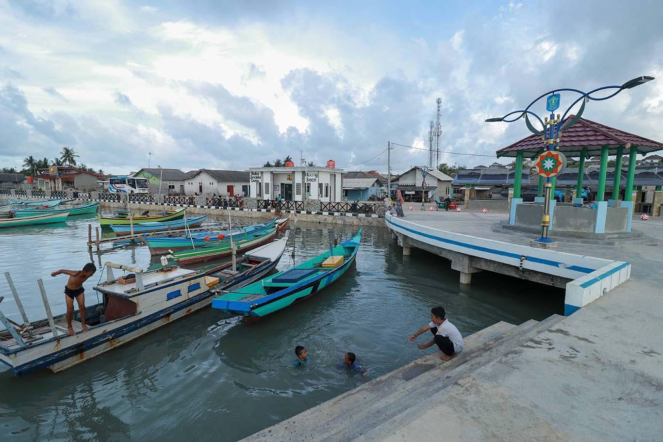 FOTO: Wajah Baru Kampung Nelayan 1 Sungailiat