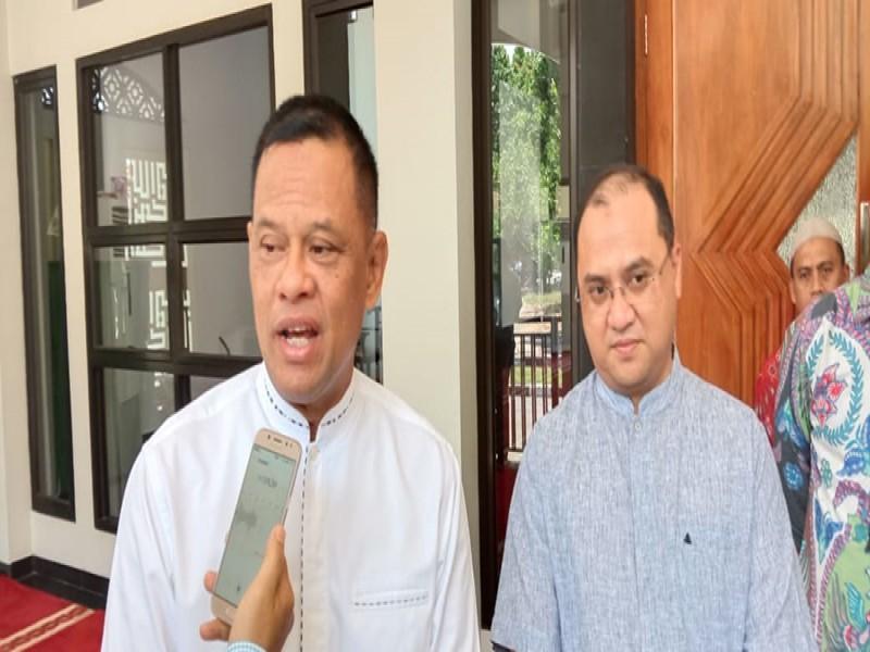 Gatot Nurmantyo Ajak Masyarakat Doakan Menko Polhukam Wiranto