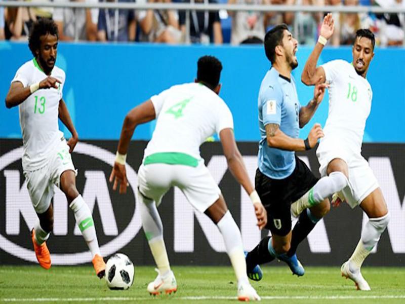 Piala Dunia 2018: Gol Tunggal Suarez ke Gawang Arab Saudi, Loloskan Uruguay ke Babak 16 Besar