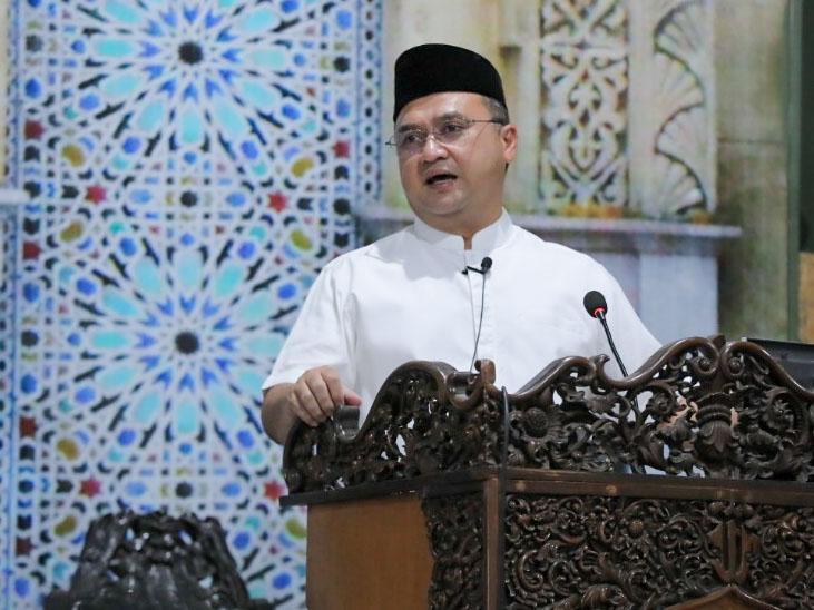 Gubernur Berikan Kultum Pentingnya Peran Orang Tua Membentuk Karakter Anak