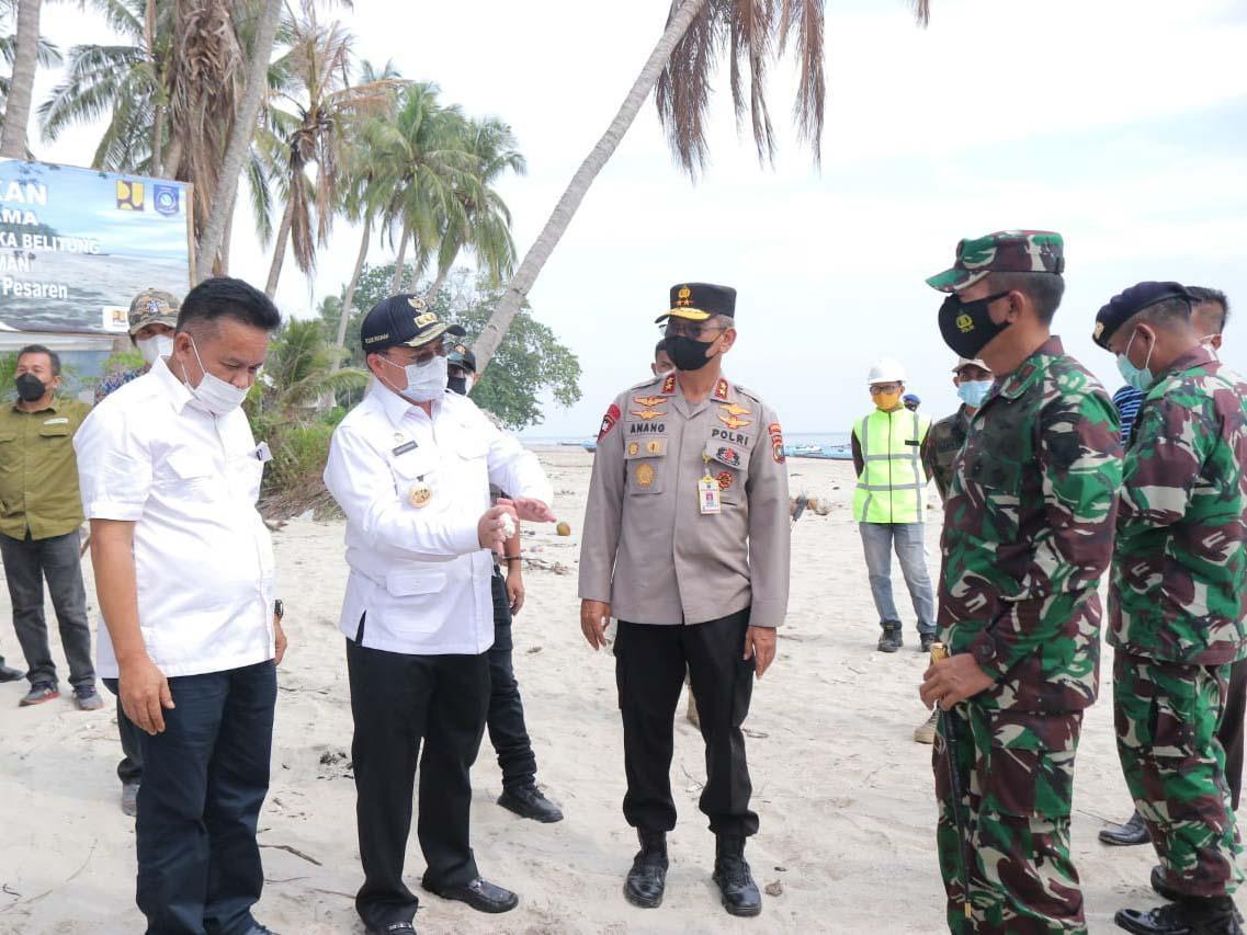 Gubernur Datang, Pantai Pesaren Bisa 'Aman'
