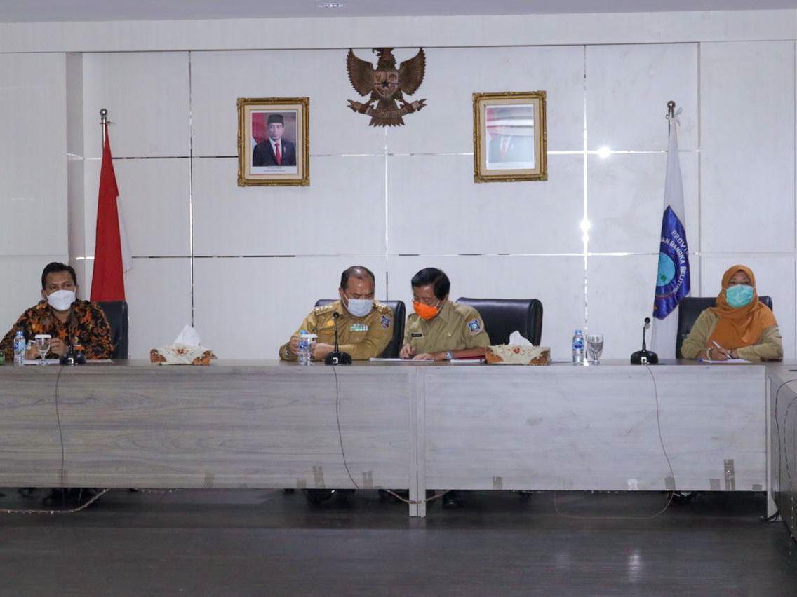 Gubernur Dorong Perusahaan Plat Merah Fokus bantu UMKM