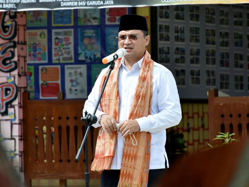 Gubernur Erzaldi Apresiasi Kampung Tegep Mandiri Desa Badau