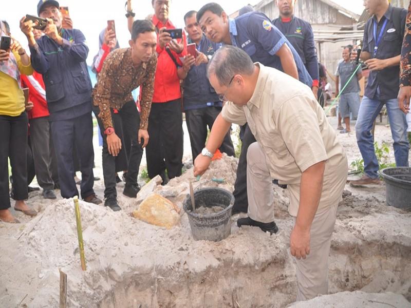 Gubernur Erzaldi Berharap Tahun Depan Ada Tiga Rumah yang Dibedah