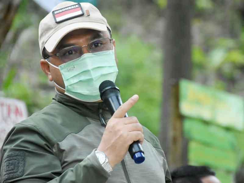 Gubernur Erzaldi Berkolaborasi dengan Desa Beluluk Lestarikan Wisata Alam Bukit Kejora