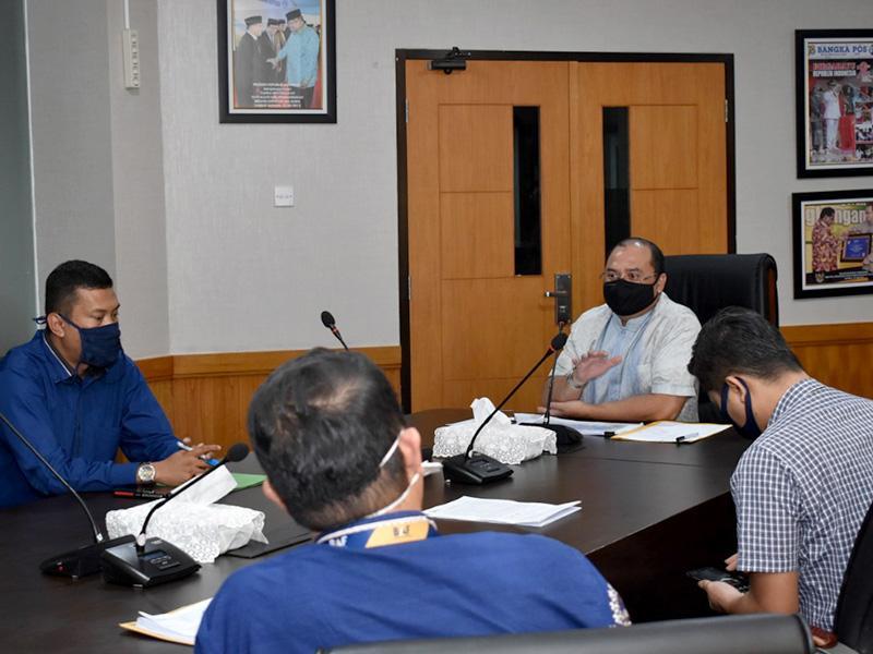 Gubernur Erzaldi Minta Kejelasan Kriteria Perusahaan Leasing Terkait Restrukturisasi Kredit Bagi Masyarakat