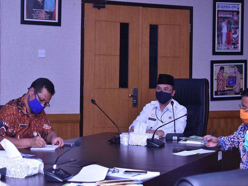 Gubernur Erzaldi Minta Rencana Pembangunan Infrastruktur Strategis Direncanakan Secara Matang
